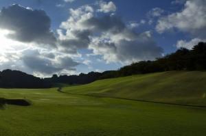 あぁ、ゴルフの空気だ。